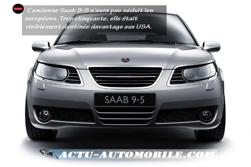 Ancienne Saab 9-5