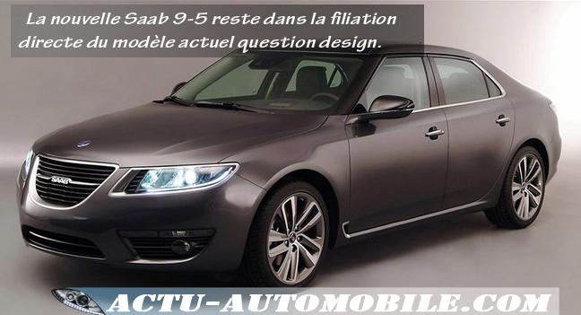 Nouvelle Saab 9-5