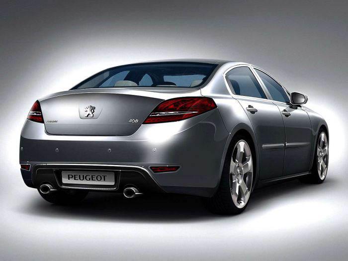 Illustration de la future Peugeot 408