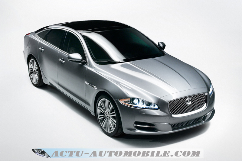 nouvelle Jaguar XJ
