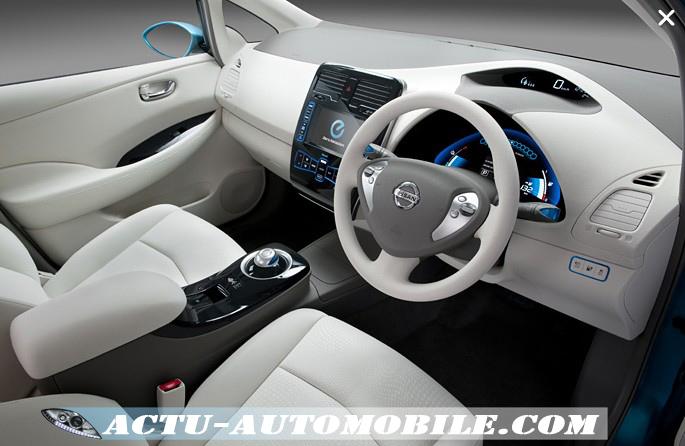 Nouvelle voiture électrique : Nissan Leaf
