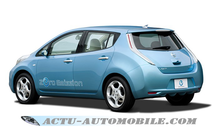 nouvelle voiture lectrique nissan leaf actu automobile. Black Bedroom Furniture Sets. Home Design Ideas