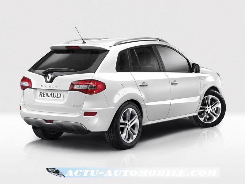 Renault Koleos White Edition vue arrière