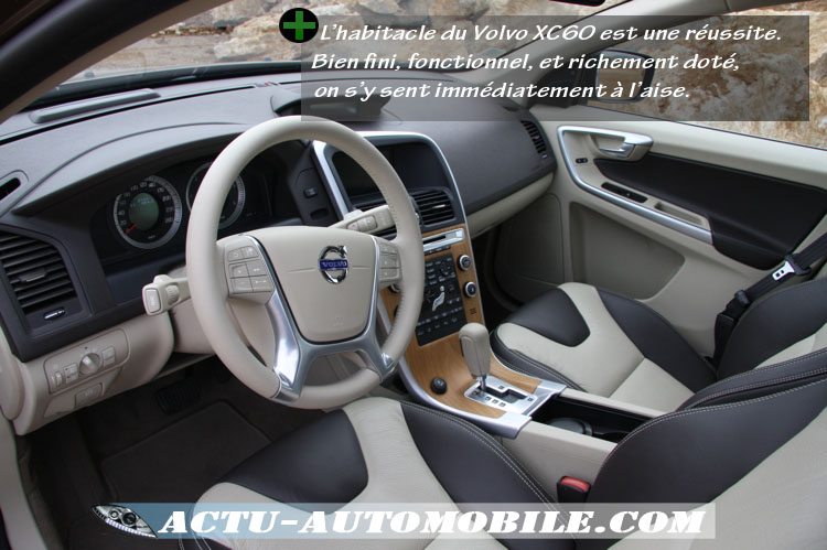 essai volvo xc60 d5 205ch geartronic xenium actu automobile. Black Bedroom Furniture Sets. Home Design Ideas