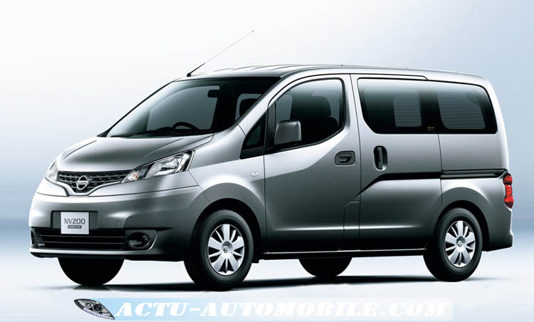 nissan nv200 vanette fourgonnette 7 places. Black Bedroom Furniture Sets. Home Design Ideas