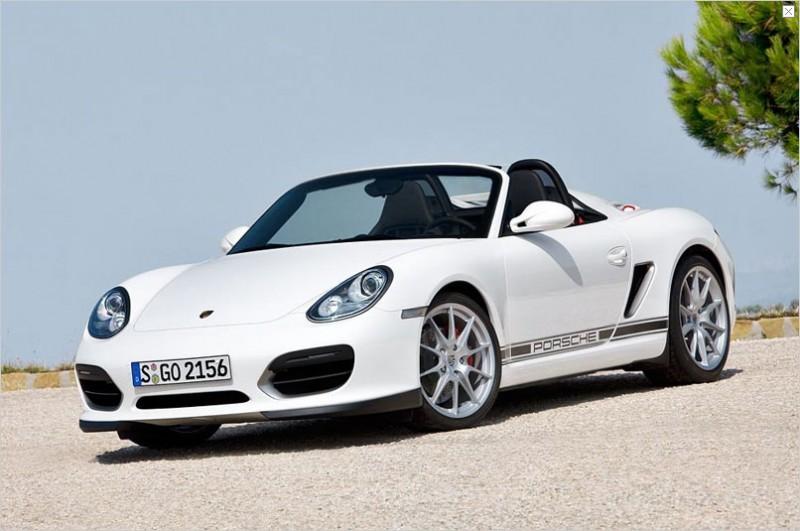 Porsche Boxter Spyder 2010