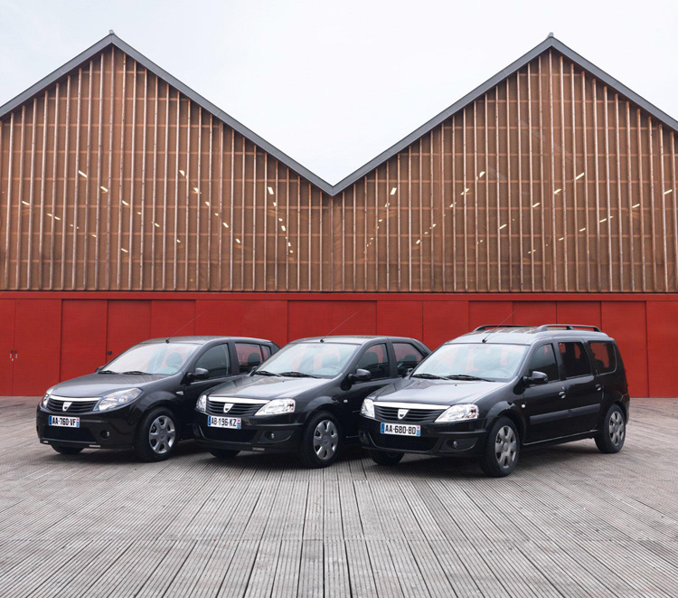 Dacia Black Line