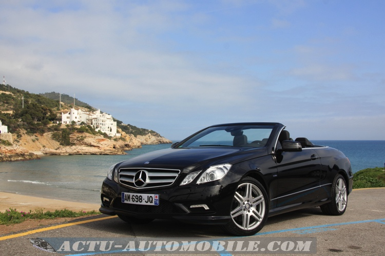 essai mercedes classe e cabriolet 250 cdi 350 cdi ba7 actu automobile. Black Bedroom Furniture Sets. Home Design Ideas