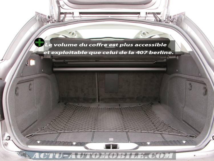 Inoversum peugeot 407 sw for Interieur 407