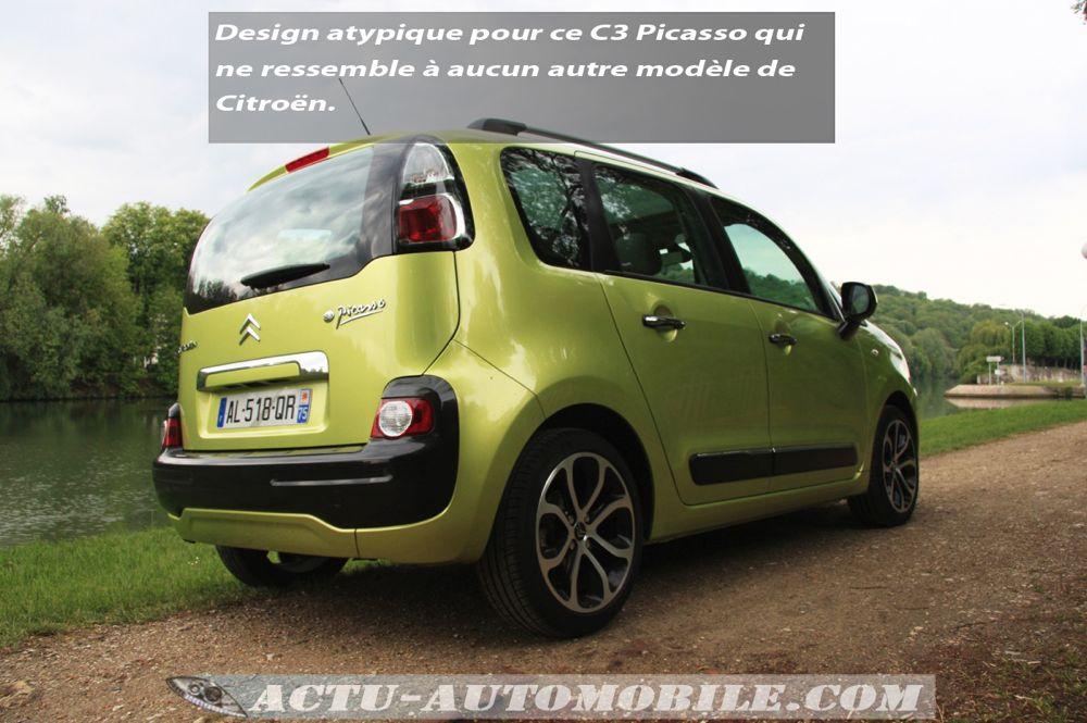 Citroën C3 Picasso Exclusive Black Pack