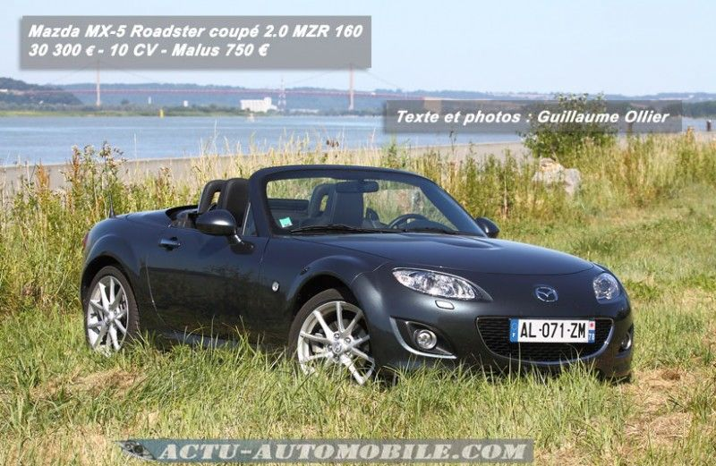 essai mazda mx 5 2 0 mzr 160 le roadster plaisir. Black Bedroom Furniture Sets. Home Design Ideas