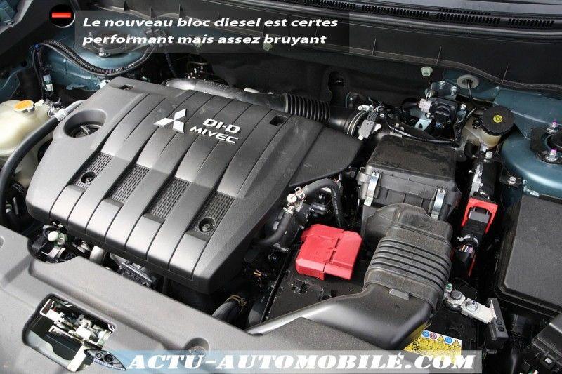 Motorisation mitsubishi asx