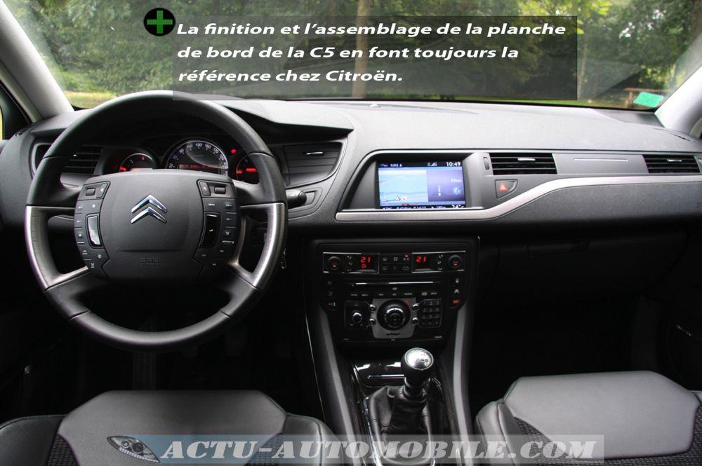 Essai Citroën C5 Exclusive 2.0 HDI 160 BVM : vie à bord ...