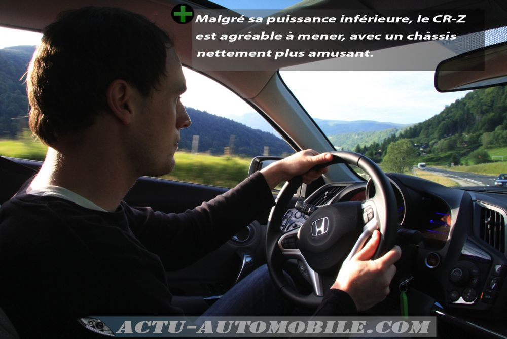 Face à face Honda CR-Z Peugeot RCZ