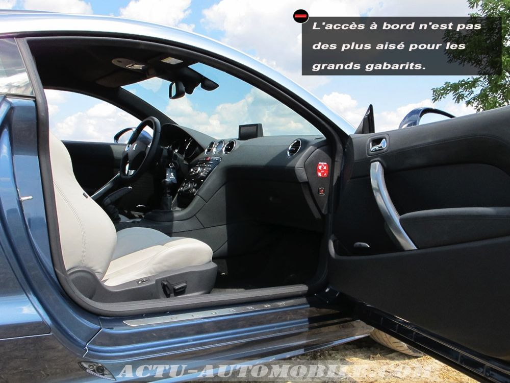 essai peugeot rcz 2 0 hdi 163 actu automobile. Black Bedroom Furniture Sets. Home Design Ideas