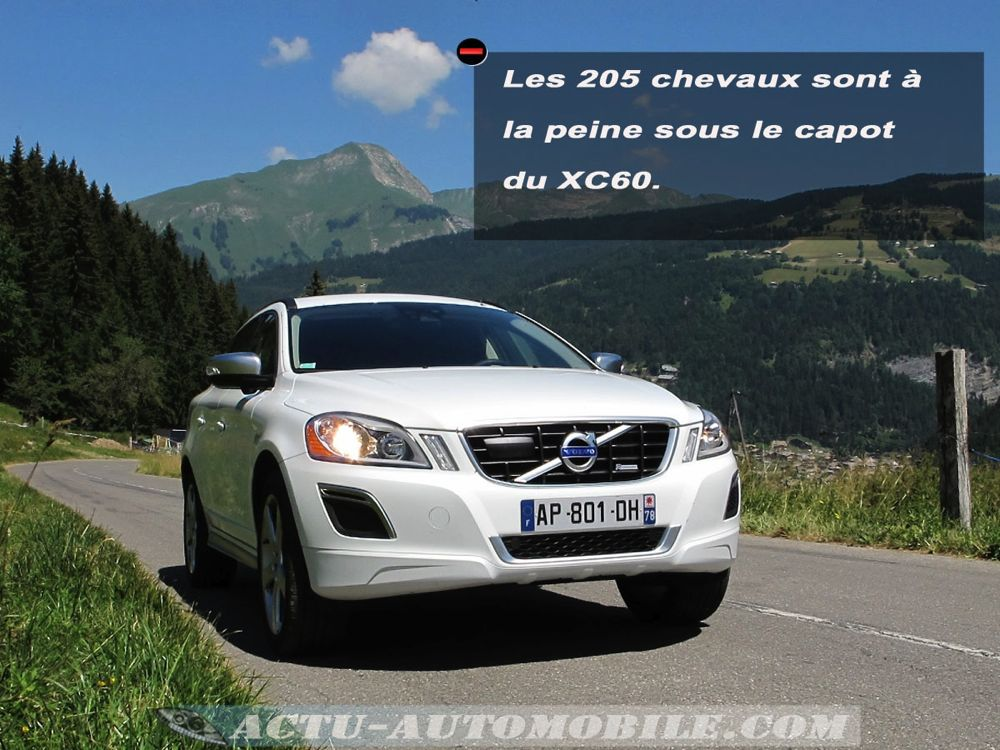 essai volvo xc60 d5 awd r design tenue de route s curit motorisation actu automobile. Black Bedroom Furniture Sets. Home Design Ideas