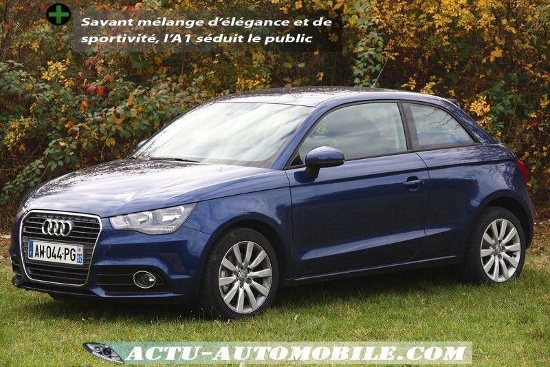 essai audi a1 1 4 tfsi 122 s tronic nouvelle r f rence actu automobile. Black Bedroom Furniture Sets. Home Design Ideas
