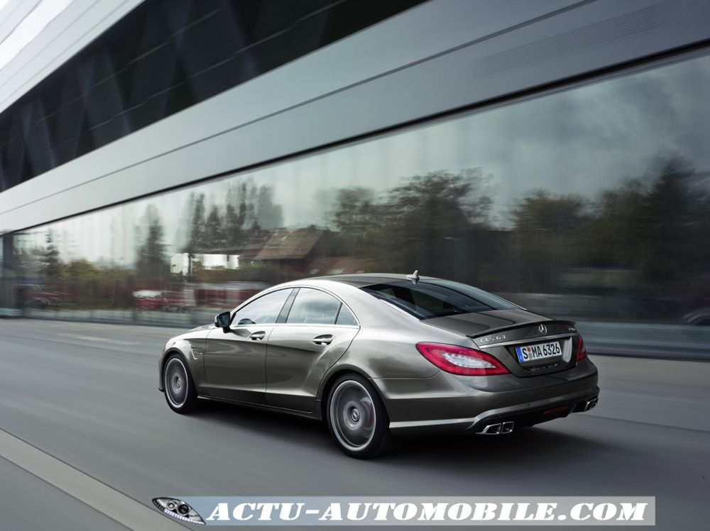 mercedes cls 63 amg v8 biturbo actu automobile. Black Bedroom Furniture Sets. Home Design Ideas
