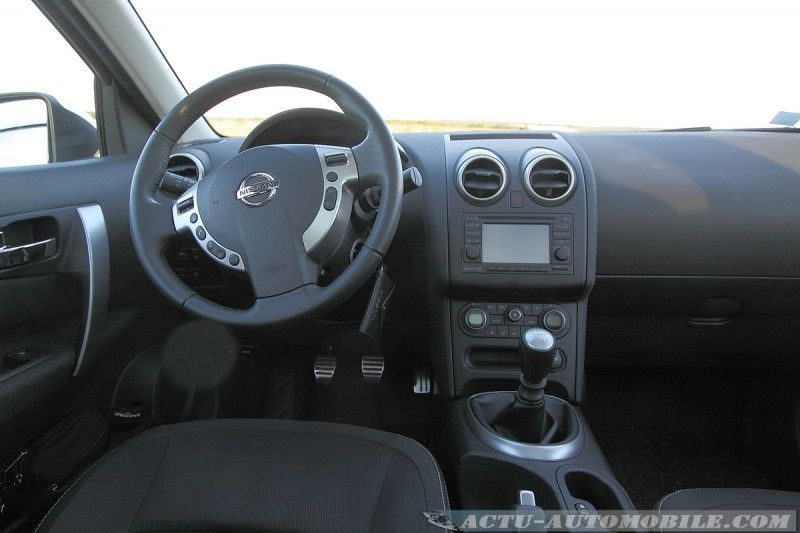 essai nissan qashqai dci 110 connect edition actu automobile. Black Bedroom Furniture Sets. Home Design Ideas