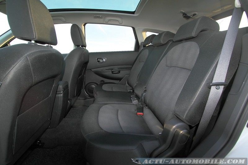 Essai nissan qashqai dci 110 connect edition actu automobile for Interieur qashqai