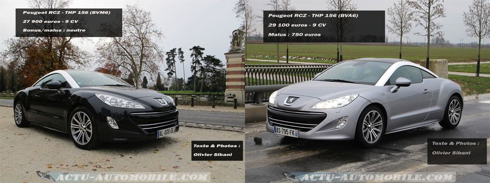 Peugeot RCZ THP