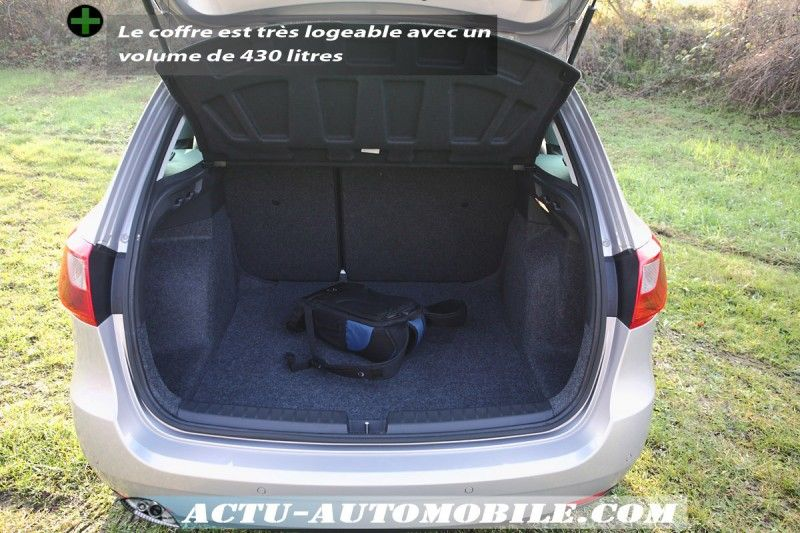 essai seat ibiza st 1 6 tdi 105 sport du volume actu automobile. Black Bedroom Furniture Sets. Home Design Ideas