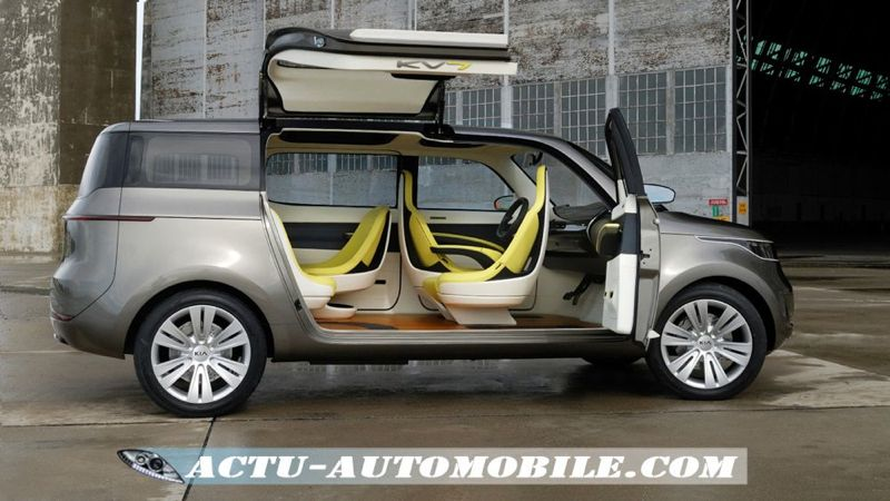 kia kv7 un concept car de monospace actu automobile. Black Bedroom Furniture Sets. Home Design Ideas