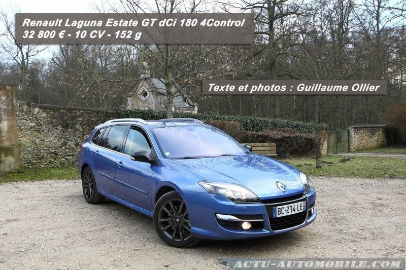 essai renault laguna estate dci 180 gt 4control actu automobile. Black Bedroom Furniture Sets. Home Design Ideas
