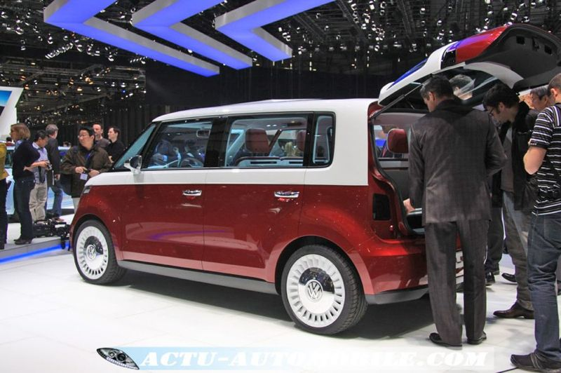 le nouveau volkswagen combi cru 2013 actu automobile. Black Bedroom Furniture Sets. Home Design Ideas