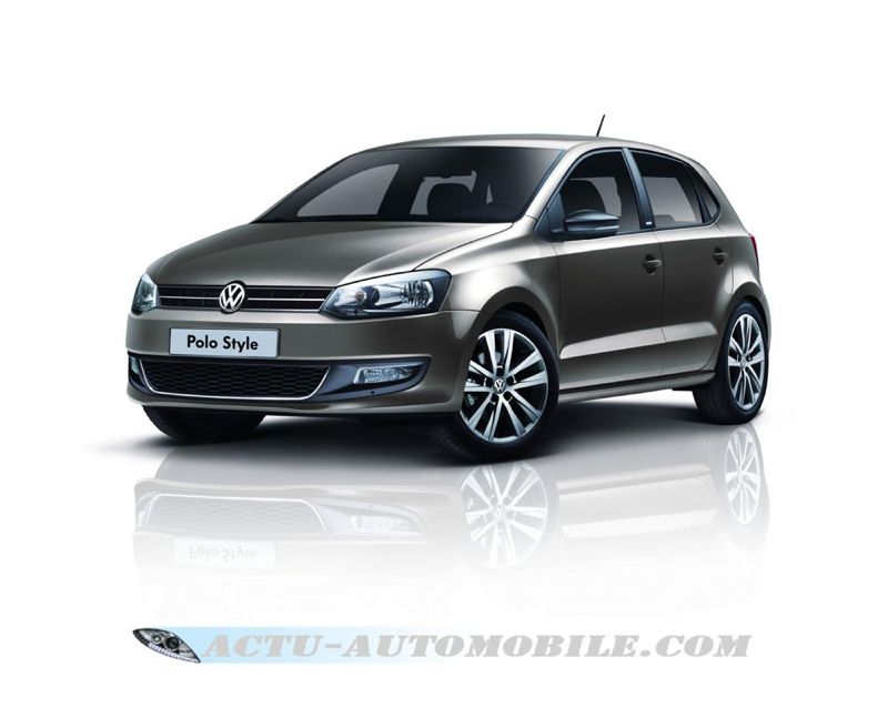 s rie sp ciale volkswagen polo style partir de 9990 actu automobile. Black Bedroom Furniture Sets. Home Design Ideas